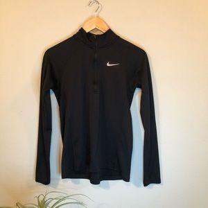 Quarter zip black Nike thermal 🌸